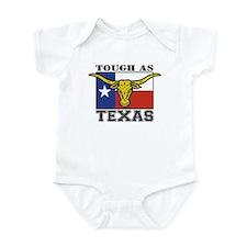 Tough as Texas Longhorn Infant Bodysuit