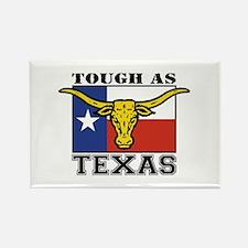 Tough as Texas Longhorn Rectangle Magnet