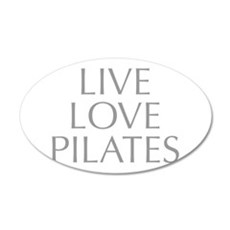 LIVE-LOVE-pilates-OPT-GRAY Wall Decal