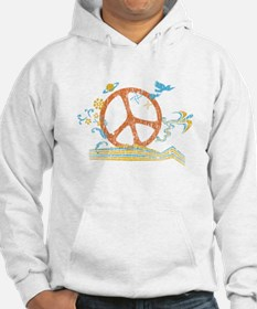 Colorful Peace Sign Hoodie