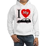 I Love My Auto/Car Hooded Sweatshirt