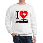 I Love My Auto/Car Sweatshirt