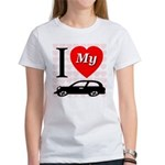 I Love My Auto/Car Women's T-Shirt
