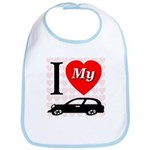 I Love My Auto/Car Bib