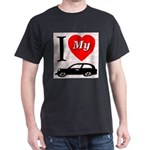 I Love My Auto/Car Dark T-Shirt