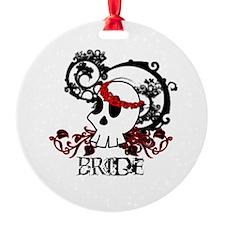 Skull Bride Ornament