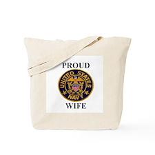 USN WIFE Tote Bag
