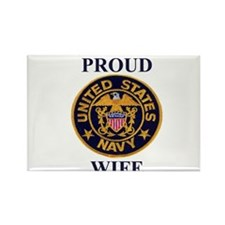 USN WIFE Rectangle Magnet