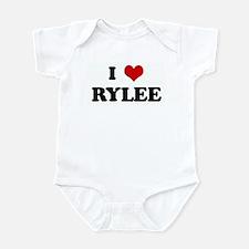 I Love RYLEE Infant Bodysuit