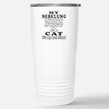 Nebelung Cat Designs Travel Mug