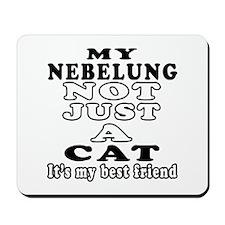 Nebelung Cat Designs Mousepad
