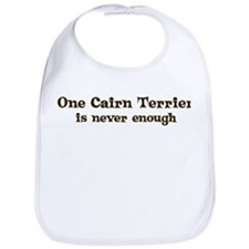 One Cairn Terrier Bib