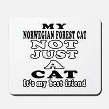 Norwegian Forest Cat Designs Mousepad