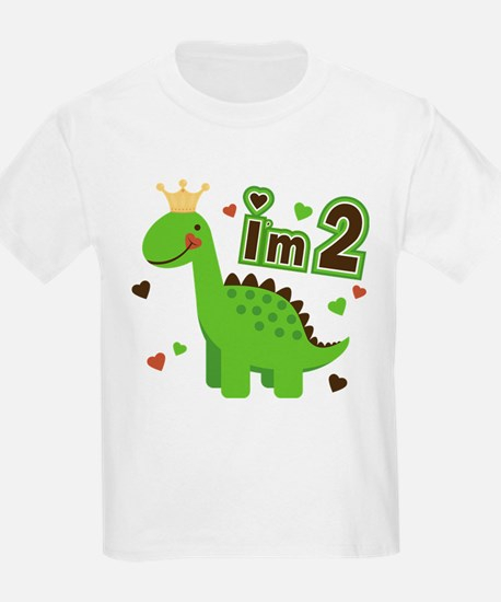 I'm 2 Dino Princess T-Shirt