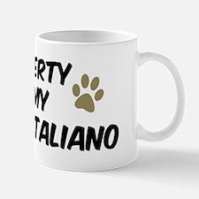 Spinone Italiano: Property of Mug