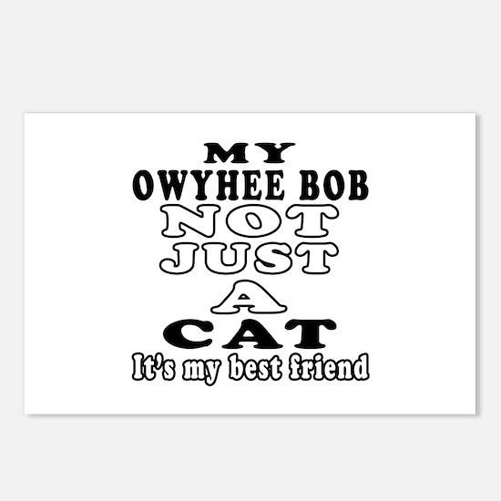 Owyhee bob Cat Designs Postcards (Package of 8)