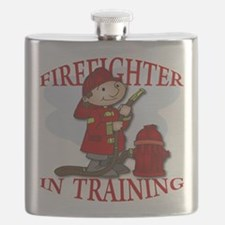 Firefighter In Training Flask