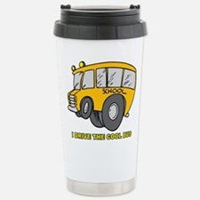 Coole School Bus Driver Stainless Steel Travel Mug