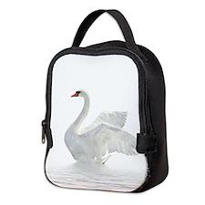 White Swan Neoprene Lunch Bag