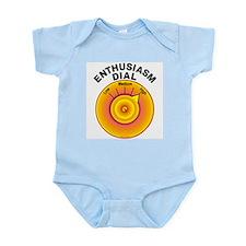 Enthusiasm Dial on High Infant Bodysuit