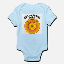 Enthusiasm Dial on High Infant Bodysuit