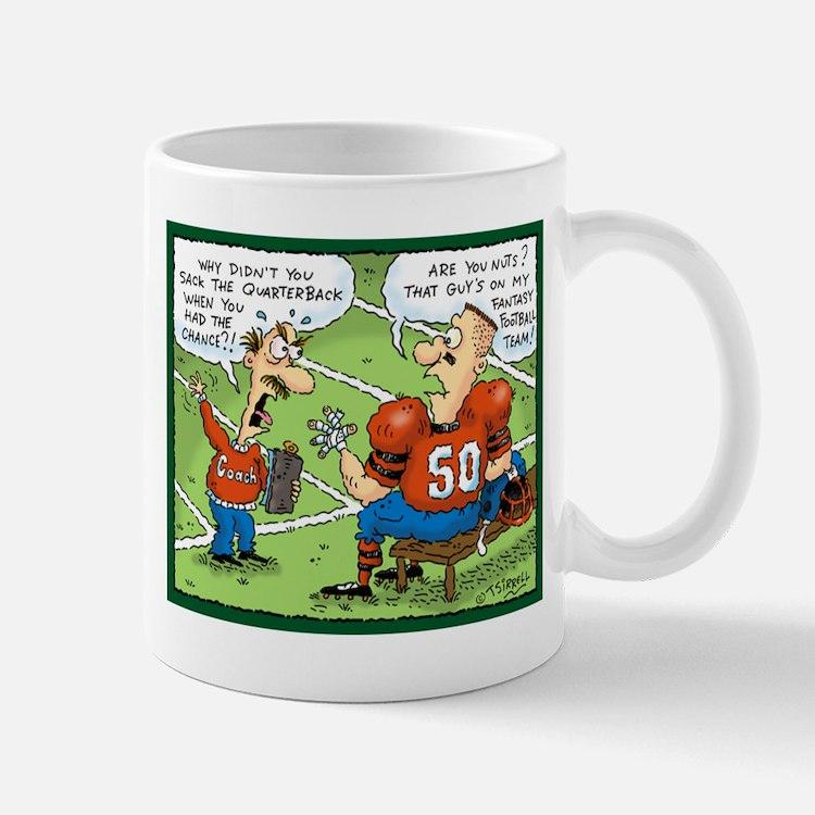 Fantasy Football Cartoon Mug
