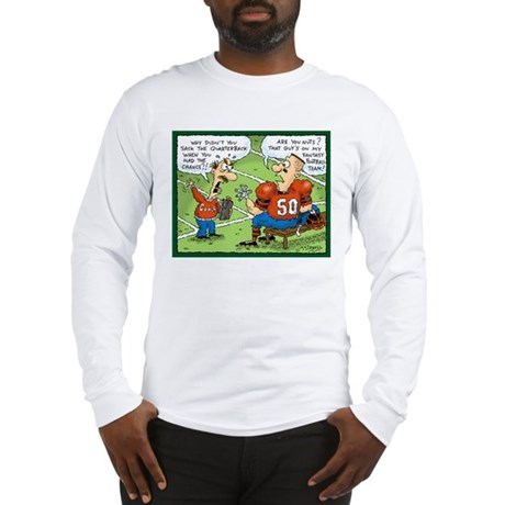 Fantasy Football Cartoon Long Sleeve T-Shirt