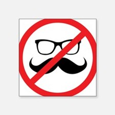 No Hipsters! Sticker