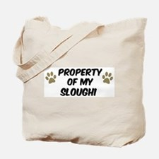 Sloughi: Property of Tote Bag