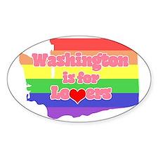Washington is for Lovers (Dark) Decal