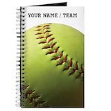 Softball Journals & Spiral Notebooks
