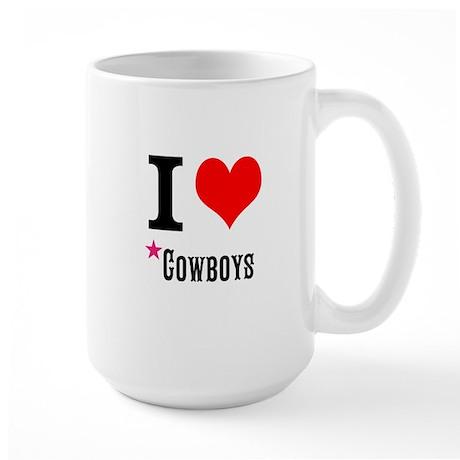 I love cowboys Mug