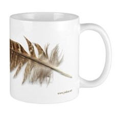 Pheasant Feather Mug 1