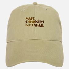 Make Cookies Not War Baseball Baseball Cap