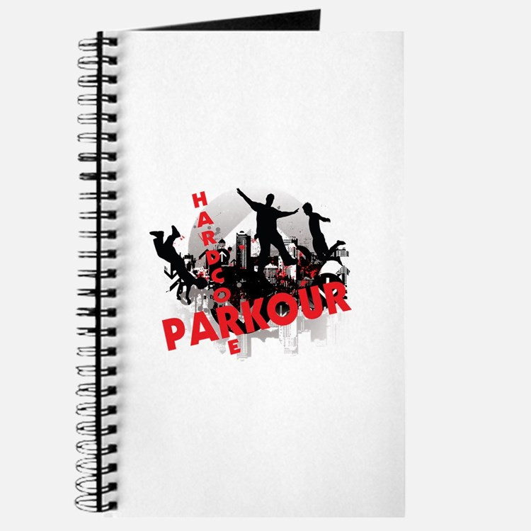 Hardcore Parkour Grunge City Journal