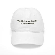 One Brittany Spaniel Baseball Cap