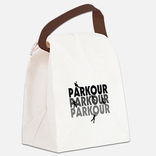 Parkour Free Running Canvas Lunch Bag