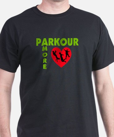 Parkour Amore With Heart T-Shirt