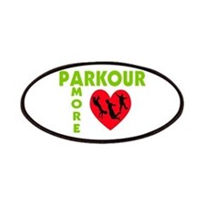 Parkour Amore With Heart Patches