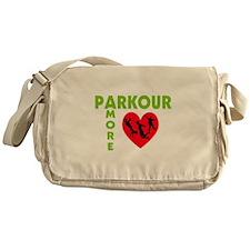 Parkour Amore With Heart Messenger Bag