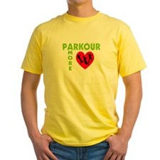 Parkour Amore With Heart T