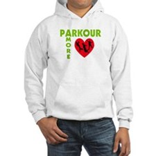 Parkour Amore With Heart Hoodie