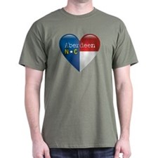 Love Aberdeen North Carolina T-Shirt