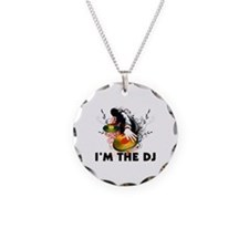 I'm The DJ Rockin The Turntables Necklace