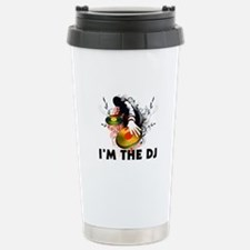 I'm The DJ Rockin The Turntables Travel Mug