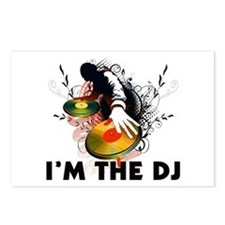 I'm The DJ Rockin The Turntables Postcards (Packag