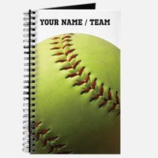 Yellow Softball B Journal