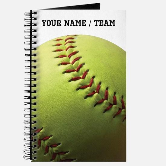 Yellow Softball B Journal