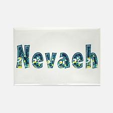 Nevaeh Under Sea Rectangle Magnet
