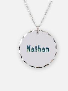 Nathan Under Sea Necklace Circle Charm
